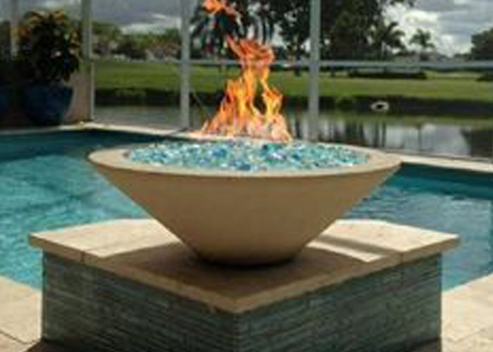 Fire Bowls Aguapools