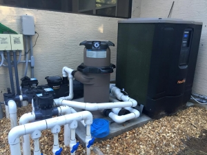 St Augustine pool equipment installation