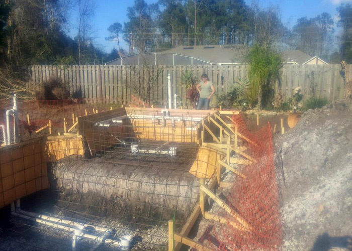 Pool Construction Photo Gallery Central Florida Projects