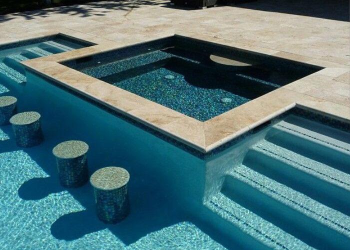 Swim-up Bars - AguaPools