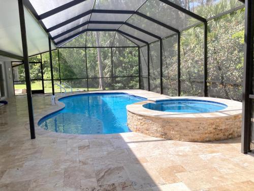 Full pool remodel in Ormond Beach