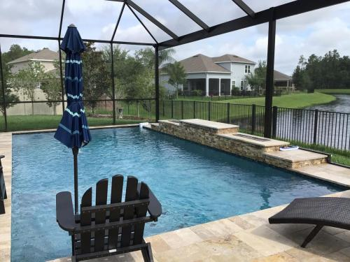 New saltwater pool construction