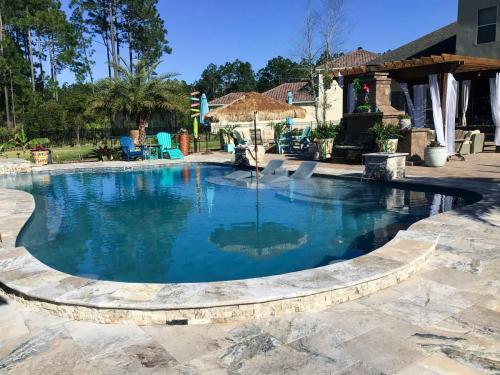 Custom swimming pool in St Augustine