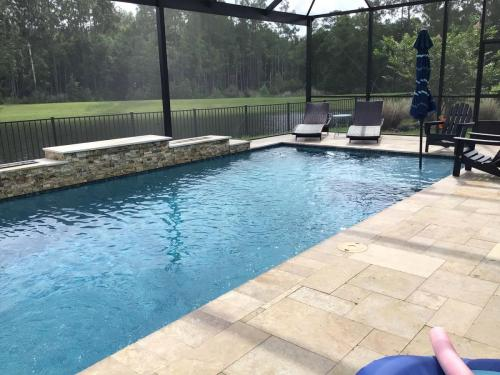 Luxury pool design and construction