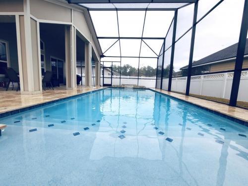 Custom inground swimming pool in St Johns FL