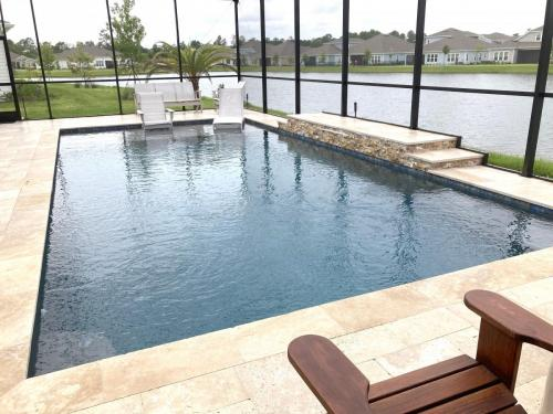 Saltwater pool construction