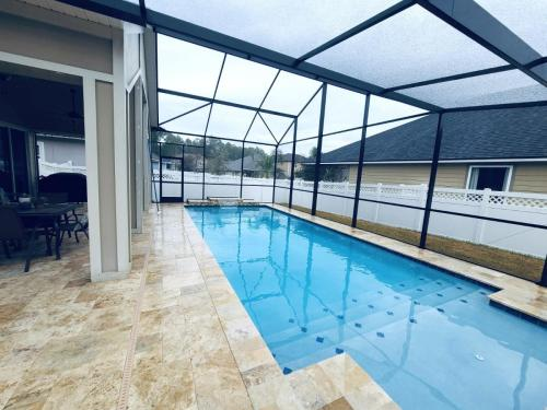 Luxury pool construction in St Johns FL
