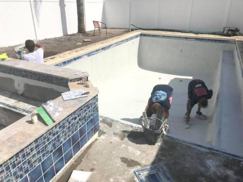 Palm-Coast-pool-construction-4-plastering-interior-2